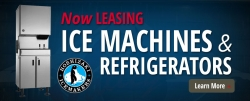 Now Offering Ice Machine and Refrigerator Leasing and Rental